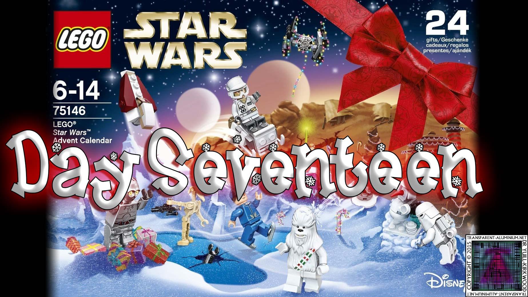 LEGO Star Wars Advent Calendar Day 17 -75146