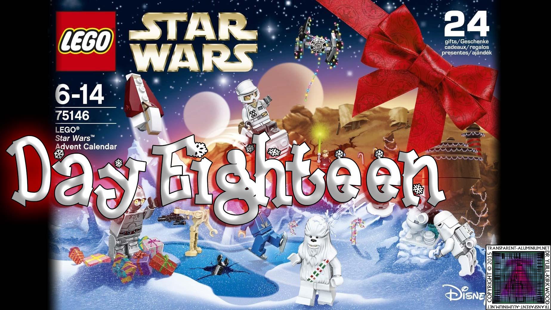LEGO Star Wars Advent Calendar Day 18 -75146