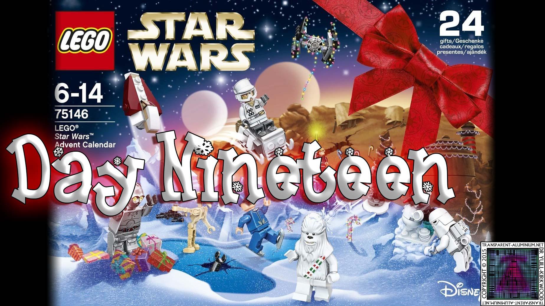 LEGO Star Wars Advent Calendar Day 19 -75146