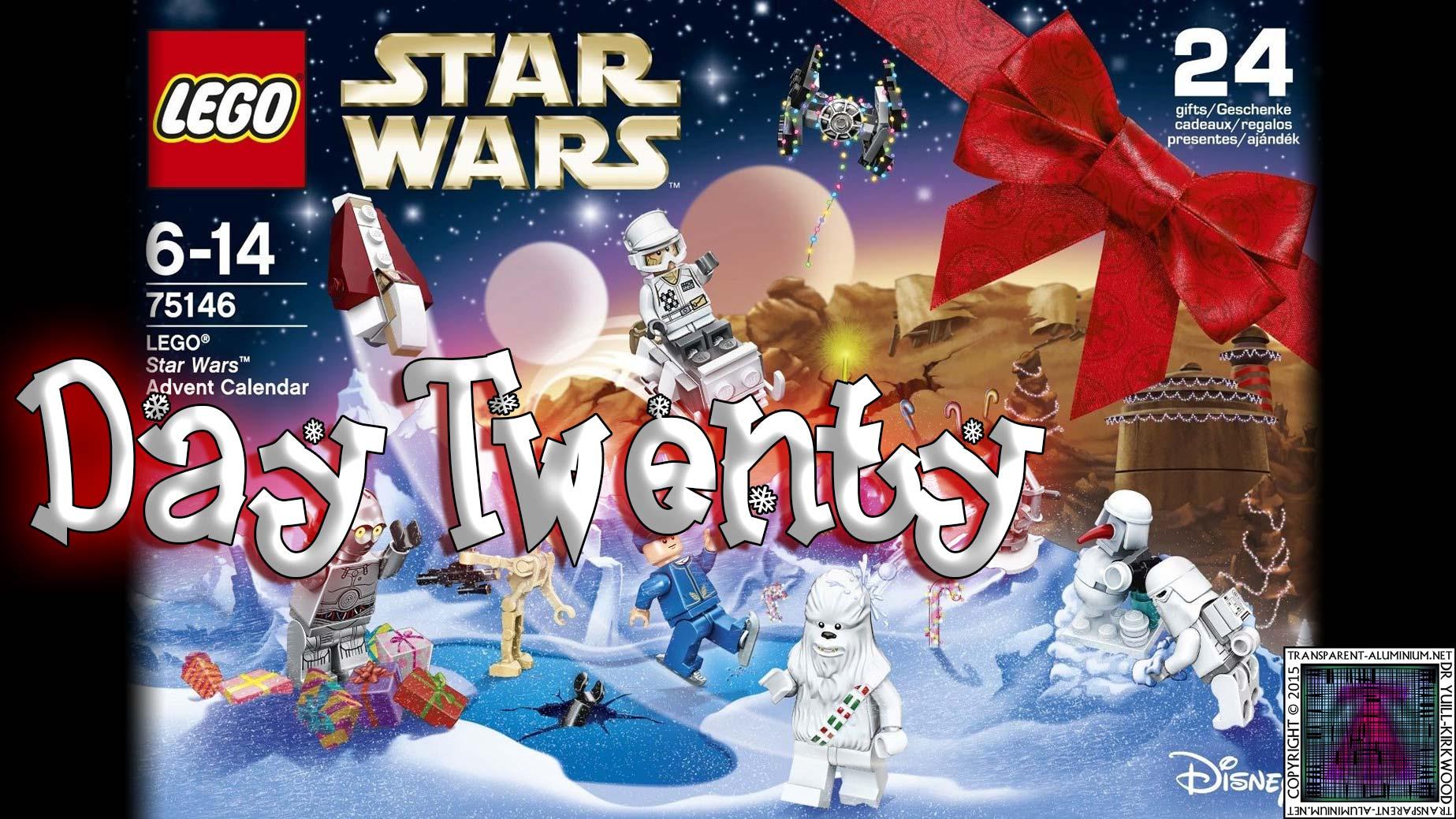 LEGO Star Wars Advent Calendar Day 20 -75146