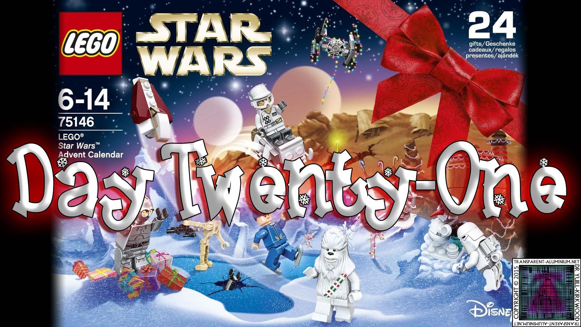 LEGO Star Wars Advent Calendar Day 21 -75146