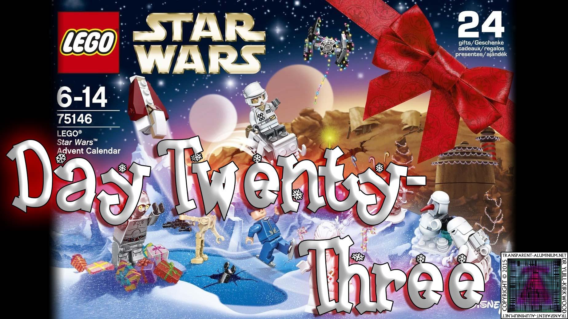 LEGO Star Wars Advent Calendar Day 23 -75146