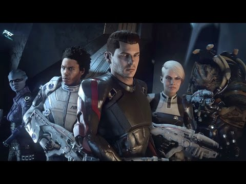 "Mass Effect Andromeda Trailer: Story Trailer – ""I Don't Need an Army, I've Got a Krogan"""