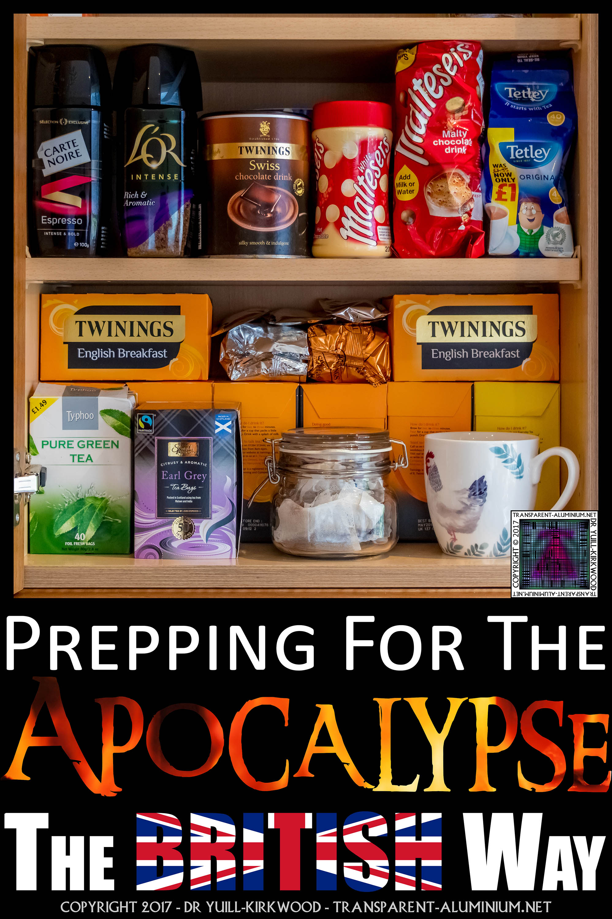 Prepping For The Apocalypse… The British Way