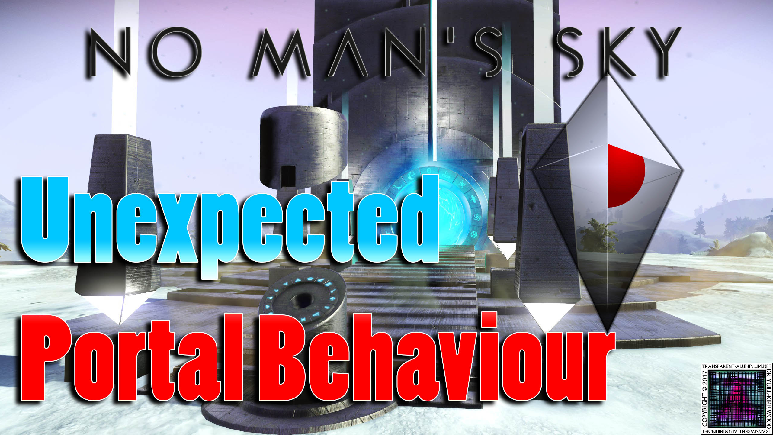 No Man's Sky – Unexpected Portal Behaviour