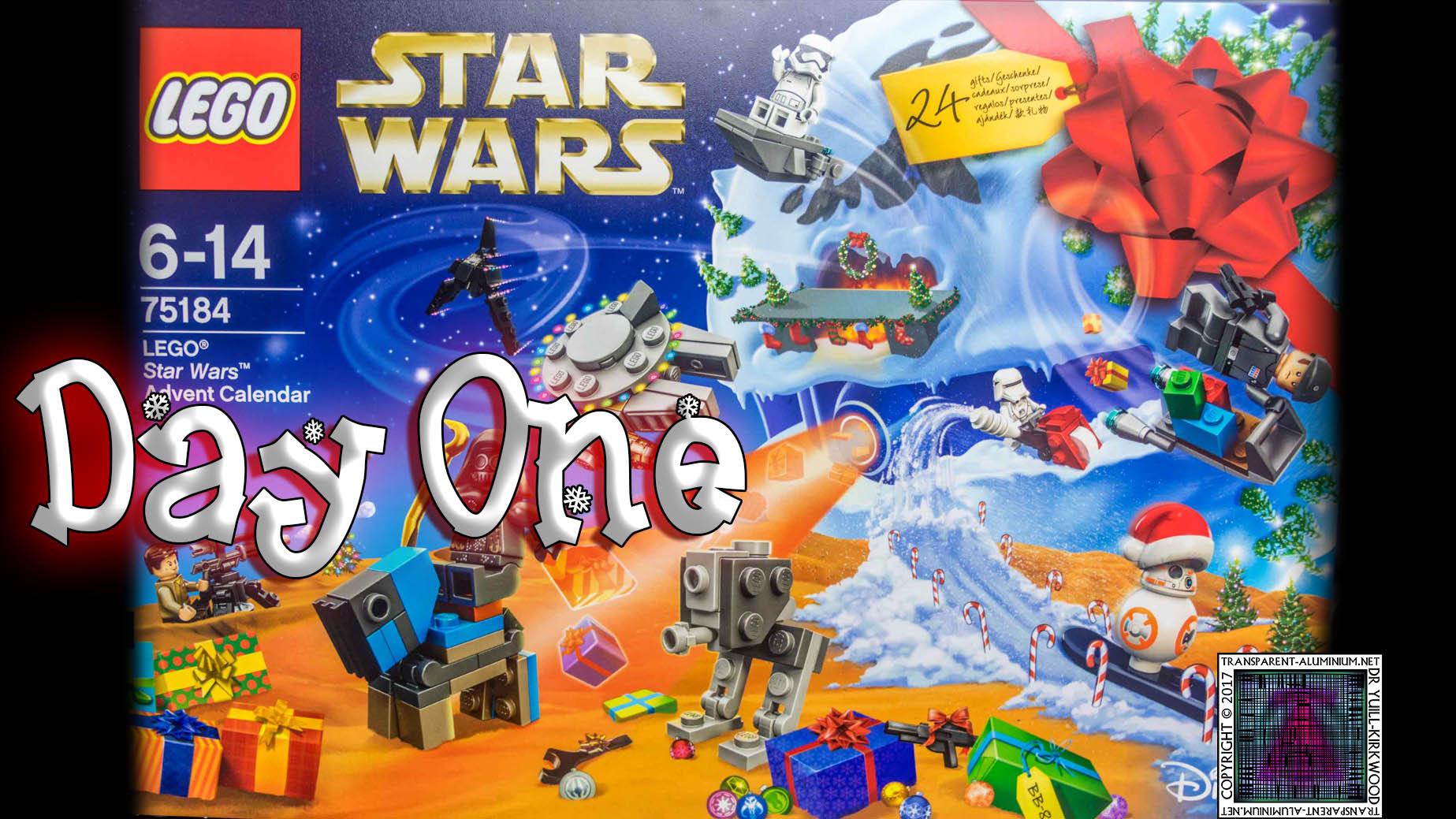 lego star wars advent calendar day 1 75184 transparent. Black Bedroom Furniture Sets. Home Design Ideas