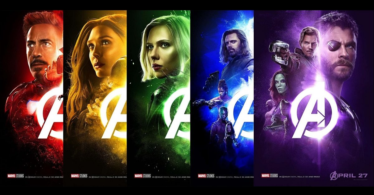 Movie Poster 2019: 5 New Avengers: Infinity War Posters Released