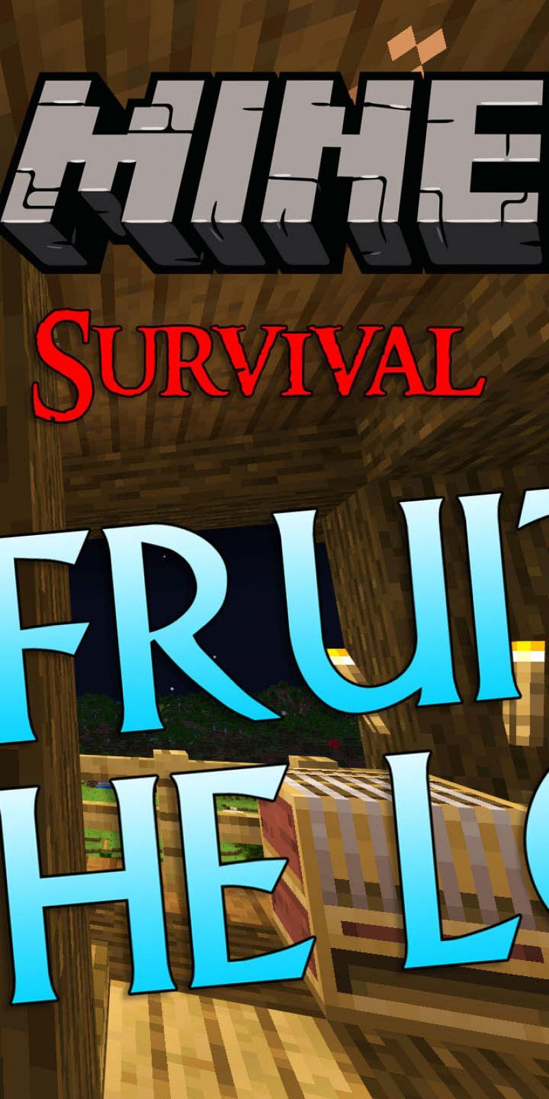 Minecraft Survival: Episode 42 – Fruit On The Loom