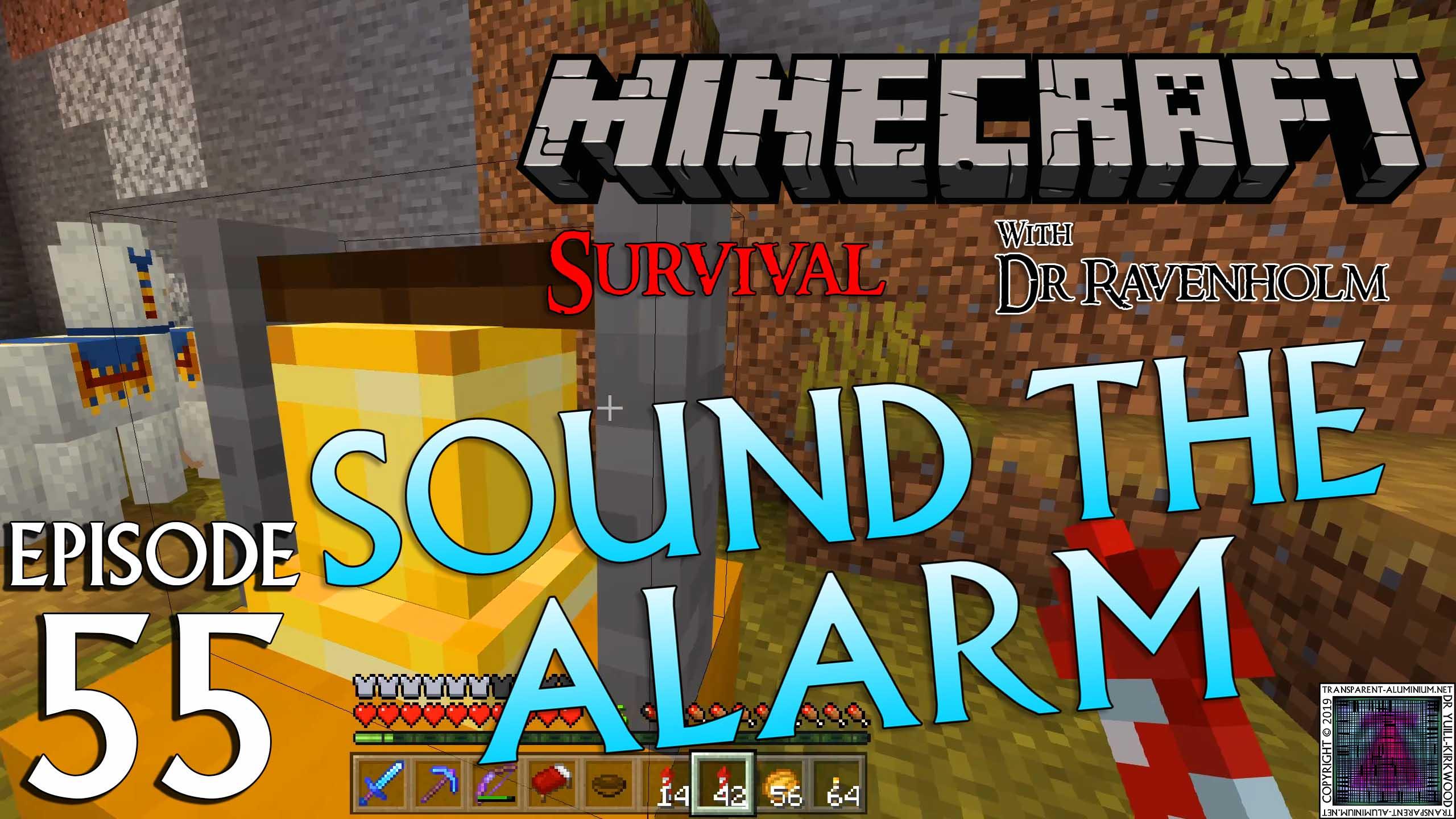Minecraft Survival: Episode 55 – Sound The Alarm! Achievement/Trophy