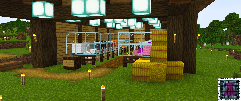 Minecraft Survival Episode 59 Automatic Wool Farm Transparent Aluminium Net,Small Home Interior Design Images India