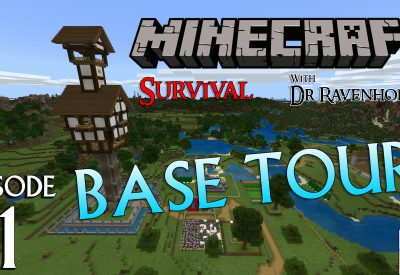 Minecraft Survival: Episode 1 – Base Tour