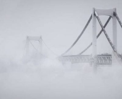 Think Fog Makes Cities Look Gloomy? These Photos Of Toyko Might Change Your Mind.