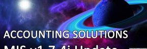 Accounting Solutions: MIS v1.7.4i Update