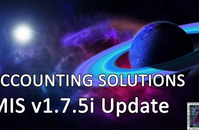 Accounting Solutions: MIS v1.7.5i Update