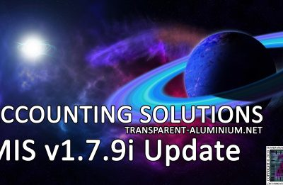 Accounting Solutions: MIS v1.7.9i Update