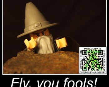 Fly, You Fools…
