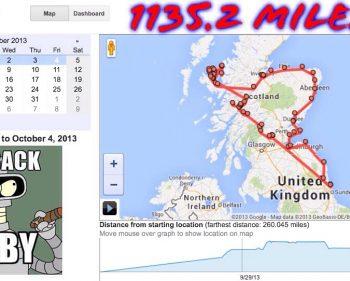 Touring Scotland 2013