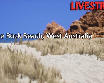 Castle Rock Beach, West Australia – Sunday Night Stroll