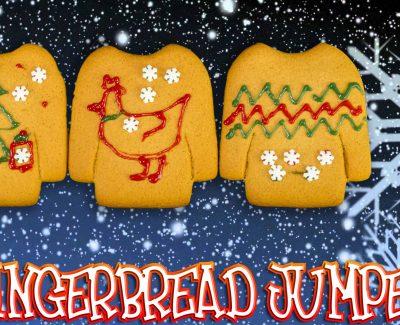 Christmas Gingerbread Jumper – Lets Build