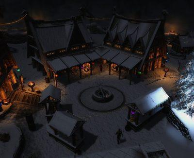 Celebrating Christmas Across Skyrim