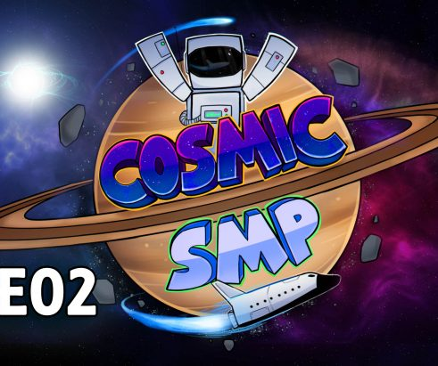 Cosmic SMP S1-E02 – In A Hole In The Ground