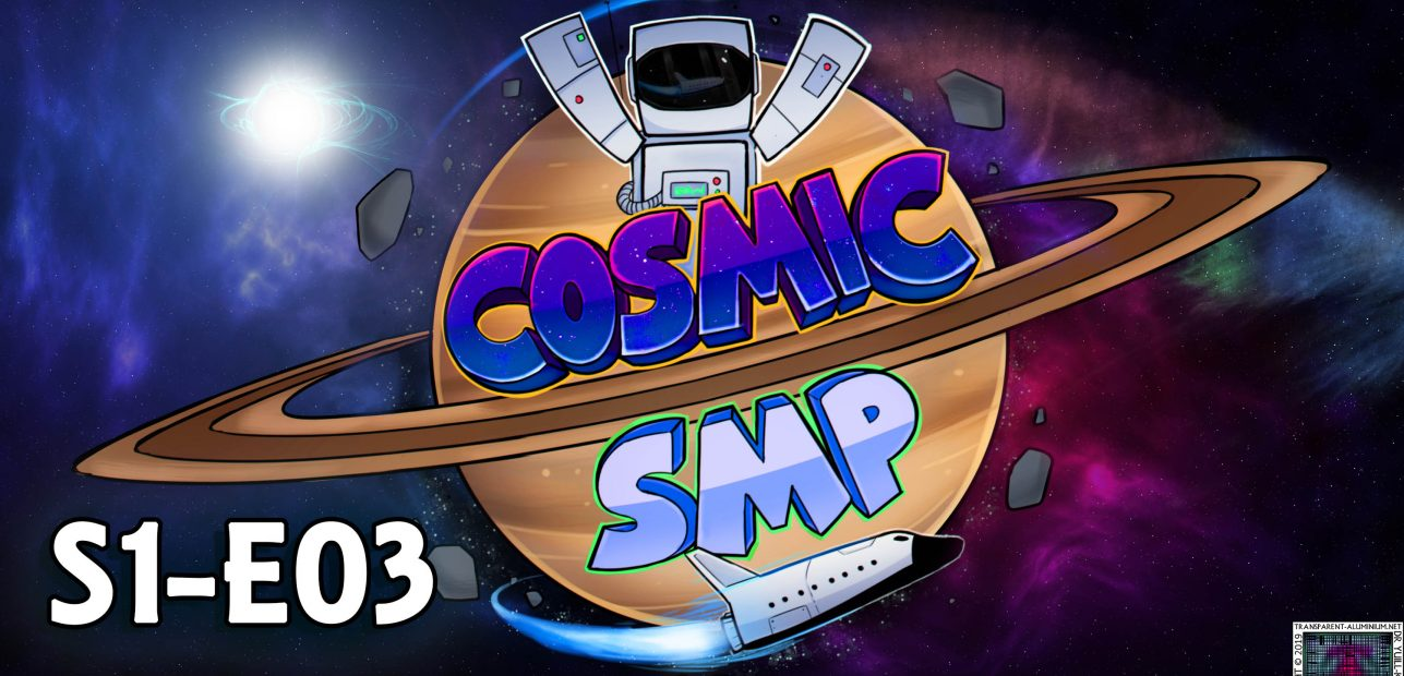 Cosmic SMP S1-E03 – Shopping, MiniGames and Gifts