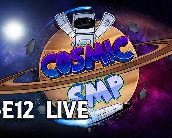 Cosmic SMP S1-E12 – A Mini Adventure and Digging with TNT LIVE