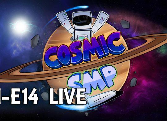 Cosmic SMP S1-E14 – Ocean Monument Raid LIVE