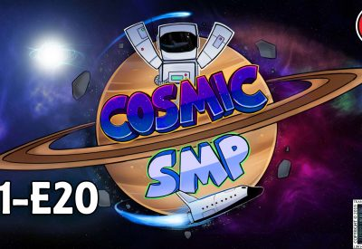 Cosmic SMP S1-E20 – Lets Go Mining….. With TNT!