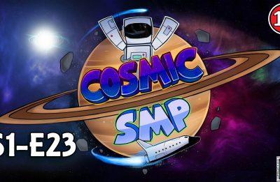 Cosmic SMP S1-E23 – xEmity Build Challenge