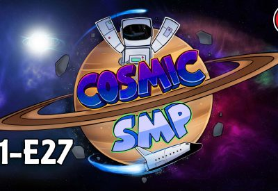 Cosmic SMP S1-E27 – High Yield Server Friendly Automatic Wool Farm