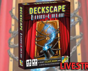 Deckscape – Behind the Curtain Playthrough (SPOILERS)
