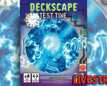 Deckscape: Test Time Card Game Playthrough (SPOILERS)