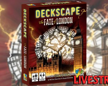 Deckscape: The Fate of London Card Game Playthrough (SPOILERS)