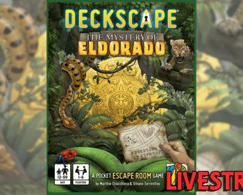 Deckscape – The Mystery of Eldorado Playthrough (SPOILERS)