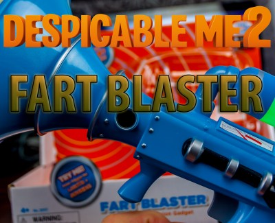 Despicable Me 2 – Fart Blaster Toy