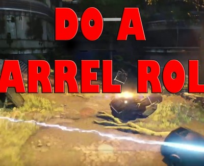 Destiny – Sparrow Barrel Roll