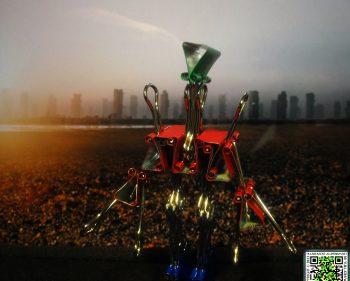 Stationary Man Enters Mega City One