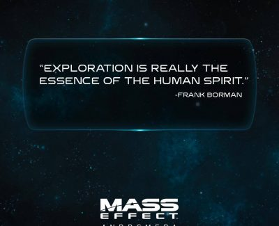 Exploration is The Essence of the Human Spirit