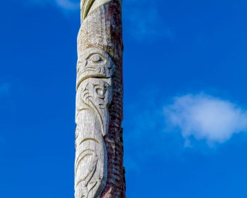 First Nations and Orcadian Totem Pole – Orkney