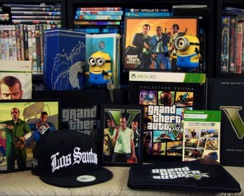 GTA V Collector's Edition Xbox 360 Unboxing