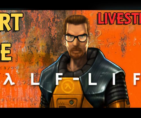 Half-Life Playthrough Livestream – Part 01