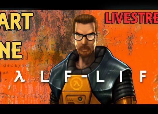 Half-Life Playthrough Livestream – Part 01