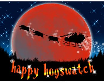 Happy Hogswatch 2019