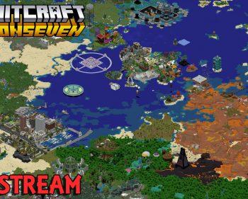 Exploring the HermitCraft Season 7 World Download