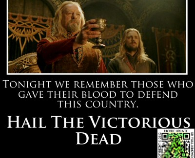 Remembrance Day – Hail The Victorious Dead
