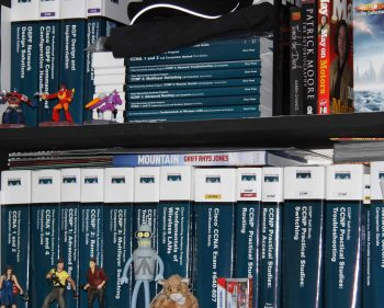 Collections on my old Bookshelves