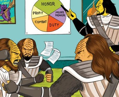 Picture Imp: Klingon Board Meeting