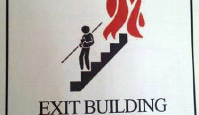 Picture Imp: In Case Of Fire