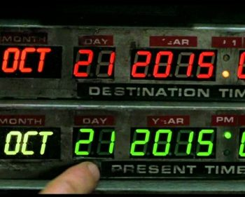 It's Officially The Future! Today Is The Day Marty McFly Travelled To In 'Back To The Future 2'